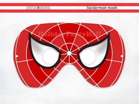 printable venom mask spiderman printable mask spider man party masks spiderman
