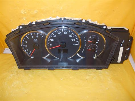 security system 1989 buick century instrument cluster 07 lacrosse allure speedometer instrument cluster dash panel gauges 72 405