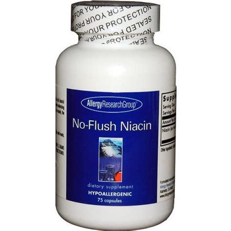 How Does Niacin Detox Take by Allergy Research No Flush Niacin Seek