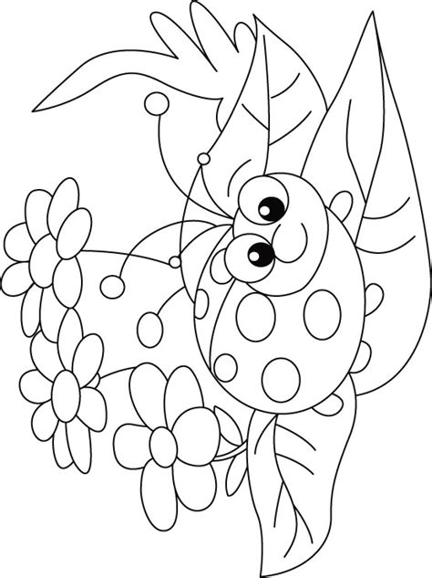 ladybug coloring pages for preschoolers lady bug coloring pages clipart best