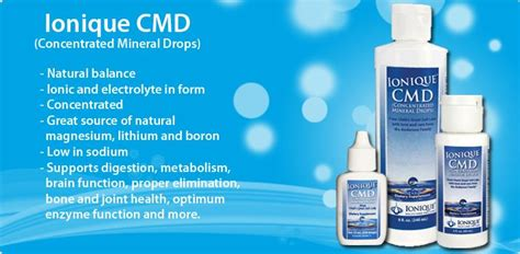 Concentrated Mineral 60ml ionique cmd concentrated mineral drops