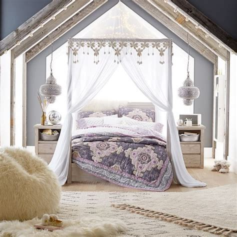 teenage bohemian bedrooms turn your bed into a relaxing wintry retreat this casual