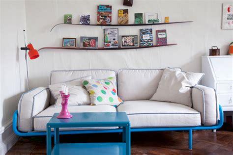 Ps 2012 Sofa by Book Bookshelf Ideas Living Room Study Design