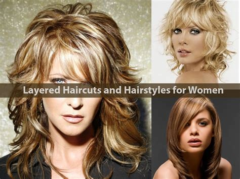 layered hairstyles for medium length hair for women over 60 layered haircuts and hairstyles for women hairstyle for