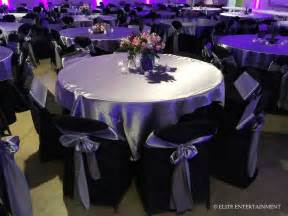 Black And Silver Table L Elite Entertainment Elite Bridal A Taste Of Our Work