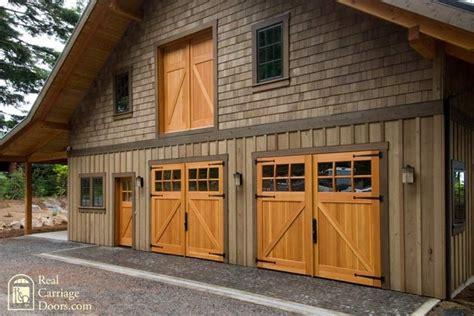 Carriage Barn Doors Classic Z Brace Carriage Doors With Side Entry Loft Door