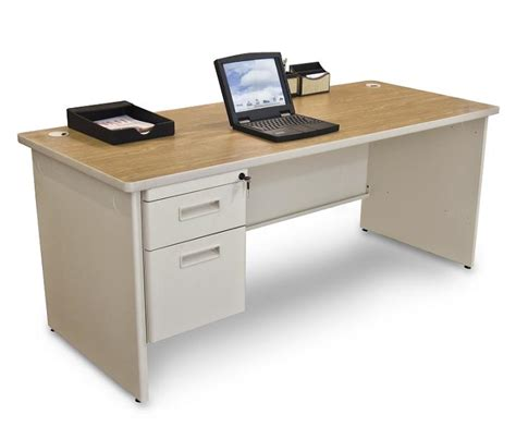 marvel office furniture pronto single pedestal computer marvel pronto single pedestal desk 36 quot x 72 quot pdr7236sp