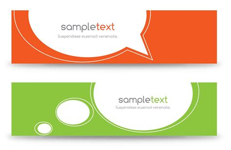 layout banner vector free 18 banner design page images free web banner design