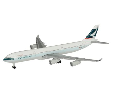 Miniatur Diecast Replika Pesawat Cathai Pasific cathay pacific airbus a340 300 1 600 planes 1 600