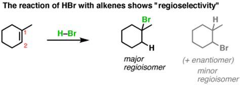 2 hexene hydration reaction addition reactions regioselectivity master organic