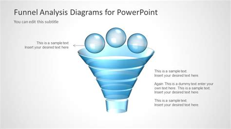 powerpoint funnel diagram funnel diagram for powerpoint slidemodel