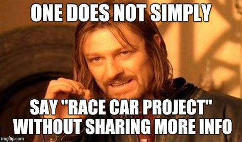 Sharing Meme - one does not simply meme imgflip