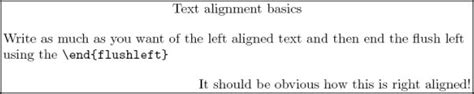 latex tutorial align latex my first latex document
