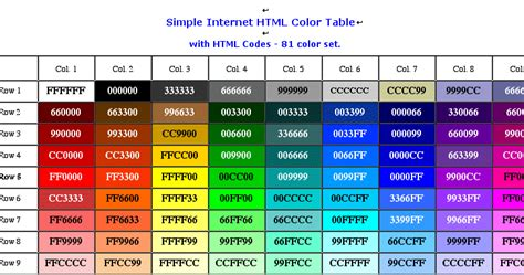 color image online html color codes online tool wonderful place to share