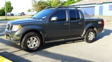 sell used 2006 nissan frontier nismo in memphis find used 2006 nissan frontier nismo off road crew cab pickup 4 door 4 0l in lake view new york