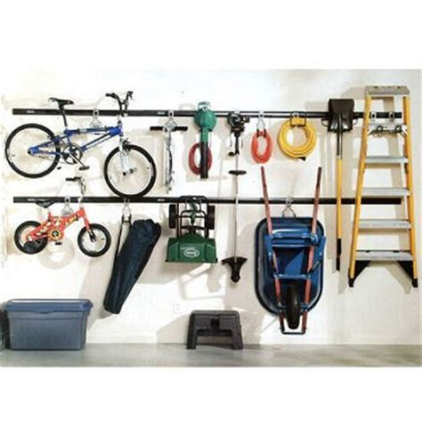 fasttrack garage organization system rubbermaid 19pc fasttrack garage system garage