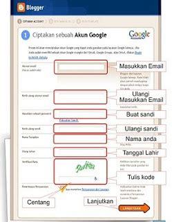 buat akun google blog cara membuat blog gratis di blogspot blogger