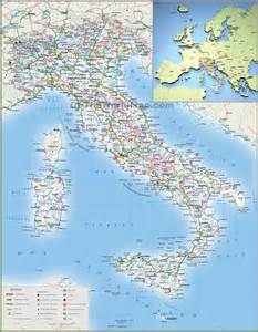 Detailed Map Of Italy by A Detailed Map Of Italy