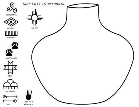 coloring earthen pots best photos of flower pot coloring page empty flower pot
