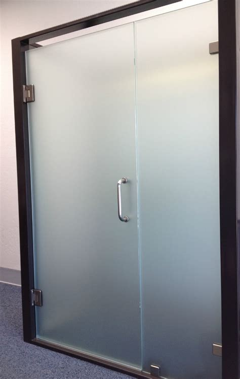 Frosted Bar Top Shower Doors And Frameless Shower Enclosures In Phoenix
