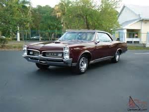 C Pontiac 1967 Pontiac Gto 4 Speed A C
