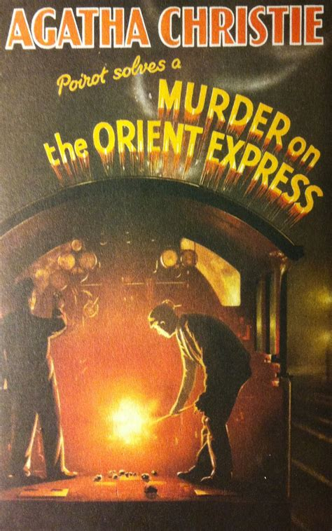 Novel Murder On The Orient Express Cover Agatha Christie murder on the orient express by agatha christie