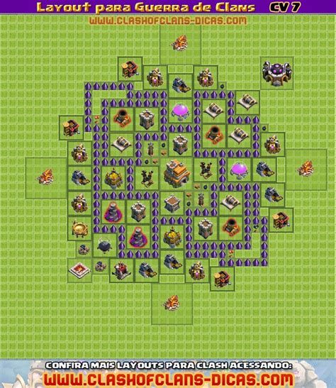 video de layout para cv 7 layouts de cv 7 para guerra de clans clash of clans dicas