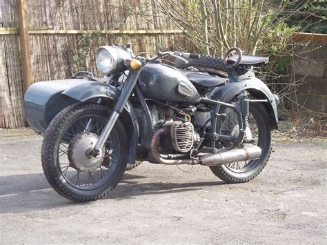 Motorrad Oldtimer Outfit by 1965 Ural K750 Side Car Outfit Dnepr Cossack M72 Bassed On