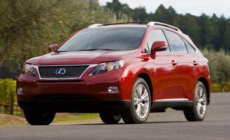 lexus rx 350 hybrid review 2010 lexus rx350 rx450h hybrid drive review