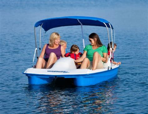 sun dolphin pedal boats canada sun dolphin water wheeler electric asl 5 person pedal boat