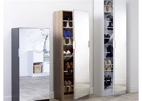shoe storage cabinet with mirror mirrored shoe cabinet