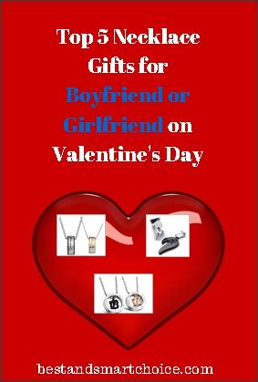 what can a give boyfriend for valentines day top 5 necklace gifts for boyfriend or on