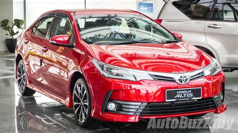 toyota my toyota corolla altis facelift launched in malaysia priced