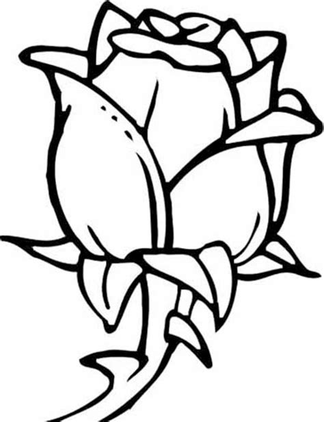 25 Flower Coloring Pages To Color Coloring Page Of A