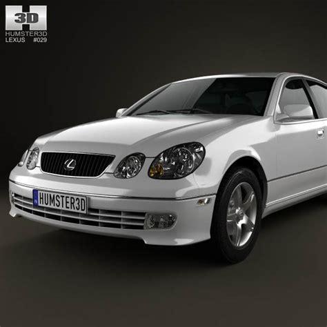 lexus gs s160 2004 3d model hum3d