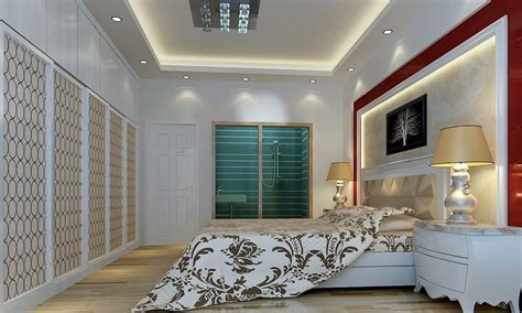Bedroom Wall Ceiling Designs Ceiling And Wall Designs Modern Bedroom 3d House Free