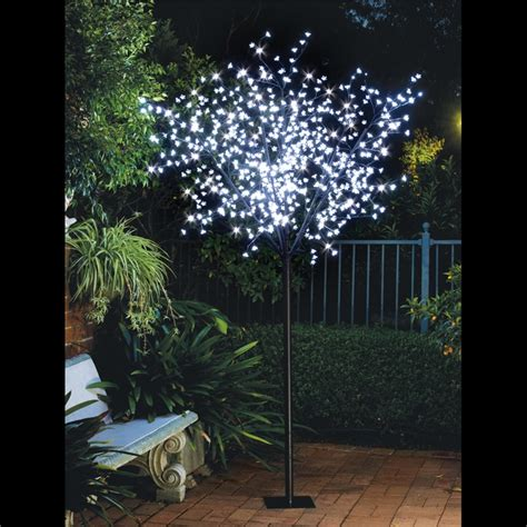 lytworx 2 5m white 600 led cherry blossom tree bunnings warehouse