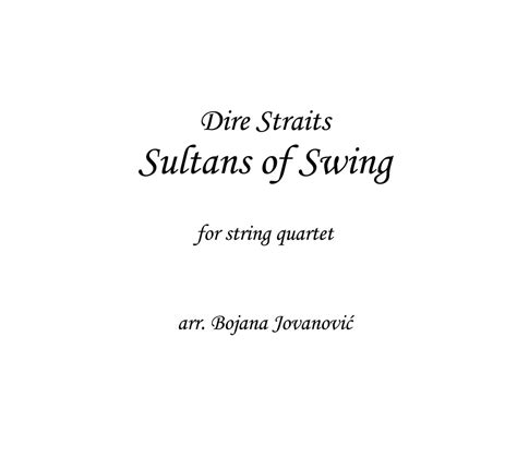 dire straits sultans of swing studio version dire straits sultans of swing sheet for string