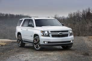 Chevrolet Tahoe Or Suburban 2018 Chevrolet Tahoe And Suburban Get Sporty Rst Package