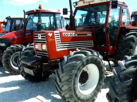 cabina fiatagri serie 90 trattore gommato 100 90 avi
