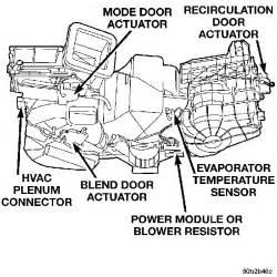 Chrysler Pacifica Heater Not Working Chrysler 300m 1999 Heat Not Working