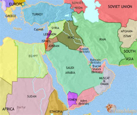 middle east map before ww2 history map of middle east 1960ad maps historic