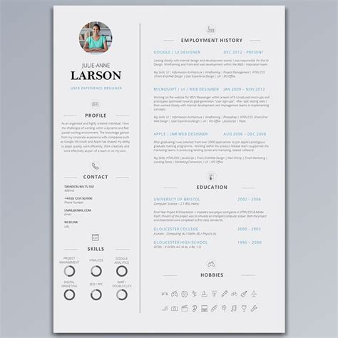 clear cv template 17 best images about creative cvs on behance