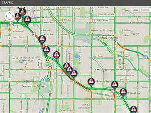Colorado Traffic Map by I 25 Sb Reopens After Overnight Bridge Project Between