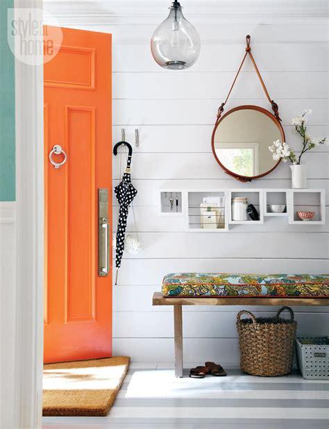 orange front door what is my new fascination with orange front doors