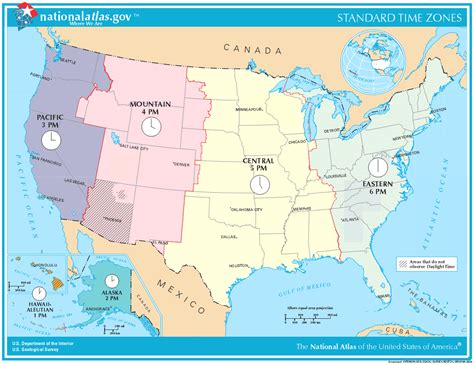 time change map usa maps usa map with time zones