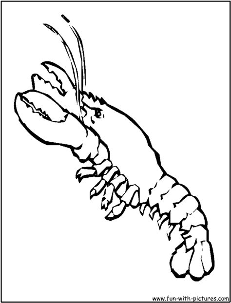 Lobster Pictures For Kids Az Coloring Pages Lobster Coloring Page