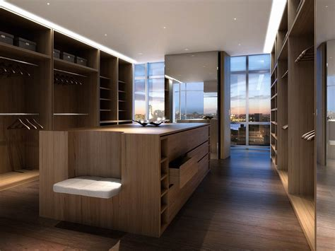 One york penthouse walk in closet