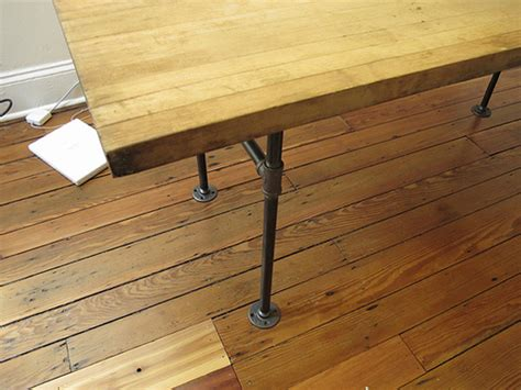 diy table legs 8 inexpensive diy standing desks you can make yourself