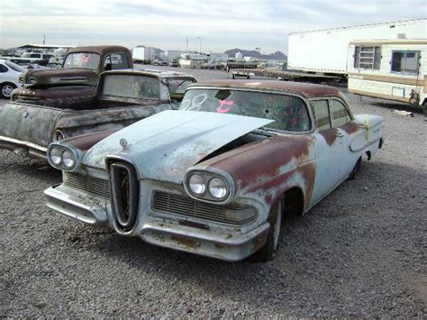 Edsel Ford Car For Sale by 1958 Edsel Ford Car 582454c Desert Valley Auto Parts